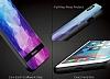 DZGOGO iPhone 7 Plus / 8 Plus Silikon Kenarlı Mavi Rubber Kılıf - Resim 9