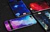 DZGOGO iPhone 7 / 8 Silikon Kenarlı Mavi Rubber Kılıf - Resim 6