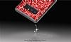 DZGOGO Samsung Galaxy Note 8 Işıltılı Siyah Deri Kılıf - Resim 4