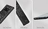 DZGOGO Samsung Galaxy Note 8 Işıltılı Siyah Deri Kılıf - Resim 8