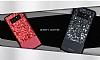 DZGOGO Samsung Galaxy Note 8 Işıltılı Siyah Deri Kılıf - Resim 5