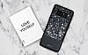 DZGOGO Samsung Galaxy Note 8 Işıltılı Siyah Deri Kılıf - Resim 2