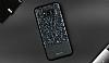 DZGOGO Samsung Galaxy S8 Işıltılı Siyah Deri Kılıf - Resim 11