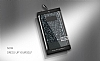 DZGOGO Samsung Galaxy S8 Plus Işıltılı Siyah Deri Kılıf - Resim 11