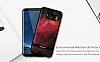 DZGOGO Samsung Galaxy S8 Plus Silikon Kenarlı Mavi Rubber Kılıf - Resim 5