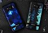 DZGOGO Samsung Galaxy S8 Plus Silikon Kenarlı Mavi Rubber Kılıf - Resim 6
