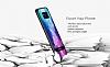 DZGOGO Samsung Galaxy S8 Silikon Kenarlı Mavi Rubber Kılıf - Resim 10