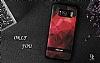 DZGOGO Samsung Galaxy S8 Silikon Kenarlı Mavi Rubber Kılıf - Resim 1