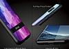 DZGOGO Samsung Galaxy S8 Silikon Kenarlı Mavi Rubber Kılıf - Resim 4