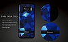 DZGOGO Samsung Galaxy S8 Silikon Kenarlı Mavi Rubber Kılıf - Resim 3