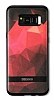DZGOGO Samsung Galaxy S8 Silikon Kenarlı Kırmızı Rubber Kılıf