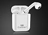 Earldom Earpods Beyaz Çiftli Bluetooth Kulaklık - Resim 1