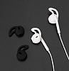 Earpods ve AirPods Şeffaf Beyaz Kulakiçi Kulaklık Silikonu - Resim 7