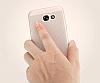 Eiroo Air To Dot Huawei P10 Delikli Rose Gold Rubber Kılıf - Resim 3