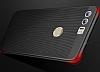 Eiroo Air To Dot Huawei P10 Plus Delikli Siyah Rubber Kılıf - Resim 5