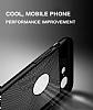 Eiroo Air To Dot Huawei P10 Plus Delikli Siyah Rubber Kılıf - Resim 4