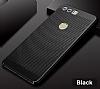 Eiroo Air To Dot Huawei P10 Plus Delikli Siyah Rubber Kılıf - Resim 1