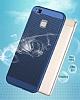 Eiroo Air To Dot Huawei P9 Lite 2017 Delikli Gold Rubber Kılıf - Resim 4