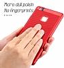 Eiroo Air To Dot Huawei P9 Lite 2017 Delikli Kırmızı Rubber Kılıf - Resim 3