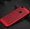 Eiroo Air To Dot iPhone 7 Plus Delikli Kırmızı Rubber Kılıf - Resim 1
