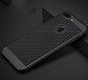 Eiroo Air To Dot iPhone 7 Plus Delikli Siyah Rubber Kılıf - Resim 1