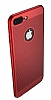 Eiroo Air To Dot iPhone 7 Plus Delikli Kırmızı Rubber Kılıf - Resim 10