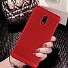 Eiroo Air To Dot Nokia 6 Delikli Kırmızı Rubber Kılıf - Resim 3