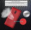 Eiroo Air To Dot Nokia 6 Delikli Kırmızı Rubber Kılıf - Resim 4