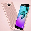 Eiroo Air To Dot Samsung Galaxy A5 2016 Delikli Gold Rubber Kılıf - Resim 4
