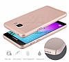 Eiroo Air To Dot Samsung Galaxy A5 2016 Delikli Gold Rubber Kılıf - Resim 6