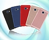Eiroo Air to Dot Samsung Galaxy C5 Pro Delikli Mor Rubber Kılıf - Resim 5