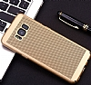 Eiroo Air To Dot Samsung Galaxy Note 3 Delikli Gold Rubber Kılıf - Resim: 3