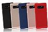 Eiroo Air To Dot Samsung Galaxy Note 8 Delikli Mor Rubber Kılıf - Resim 2