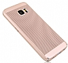 Eiroo Air To Dot Samsung Galaxy S7 Delikli Rose Gold Rubber Kılıf - Resim 2