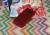 Eiroo Air To Dot Samsung Galaxy S8 Plus Delikli Kırmızı Rubber Kılıf - Resim 1