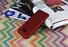 Eiroo Air To Dot Samsung Galaxy S8 Plus Delikli Kırmızı Rubber Kılıf - Resim 2