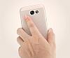Eiroo Air To Dot Samsung Galaxy S8 Plus Delikli Silver Rubber Kılıf - Resim 2