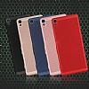 Eiroo Air To Dot Sony Xperia XA1 Delikli Kırmızı Rubber Kılıf - Resim 5