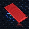 Eiroo Air To Dot Sony Xperia XA1 Delikli Kırmızı Rubber Kılıf - Resim 3