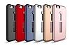 Eiroo Alloy Fit iPhone 6 / 6S Selfie Yüzüklü Gold Metal Kılıf - Resim 1