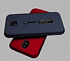 Eiroo Alloy Fit Samsung Galaxy J5 Pro 2017 Selfie Yüzüklü Kırmızı Metal Kılıf - Resim 3