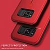 Eiroo Alloy Fit Samsung Galaxy S8 Plus Selfie Yüzüklü Siyah Metal Kılıf - Resim 7
