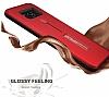 Eiroo Alloy Fit Samsung Galaxy S8 Plus Selfie Yüzüklü Siyah Metal Kılıf - Resim 3