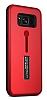 Eiroo Alloy Fit Samsung Galaxy S8 Selfie Yüzüklü Kırmızı Metal Kılıf - Resim 12