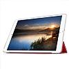Eiroo Apple iPad Pro 10.5 Slim Cover Kırmızı Kılıf - Resim 2