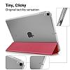 Eiroo Apple iPad Pro 10.5 Slim Cover Kırmızı Kılıf - Resim 5