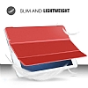 Eiroo Apple iPad Pro 10.5 Slim Cover Kırmızı Kılıf - Resim 7