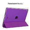 Eiroo Apple iPad Pro 10.5 Slim Cover Mor Kılıf - Resim 1