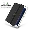 Eiroo Apple iPad Pro 10.5 Slim Cover Siyah Kılıf - Resim 5