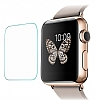 Eiroo Apple Watch Tempered Glass Cam Ekran Koruyucu (38 mm) - Resim: 1